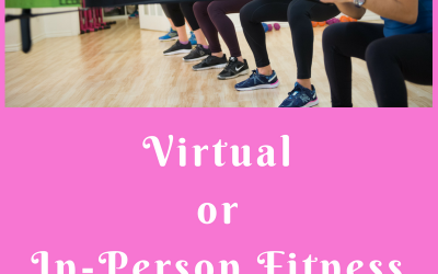 CareerFit Mom Podcast EP14 – Is Virtual or In-Person Fitness Better For You?