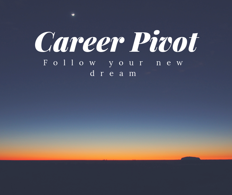 """CareerFit Mom Podcast Ep43: Pivoting Your Career Away From Your """"Dream"""" Job"""